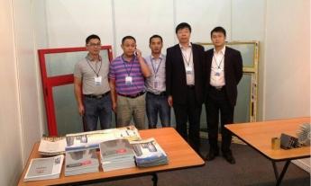 2014年7月15日董事长付义波参加江西代表团赴俄罗斯参展